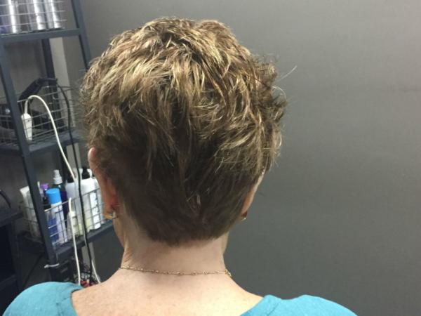 Headline Studio After Women's Hair Replacement